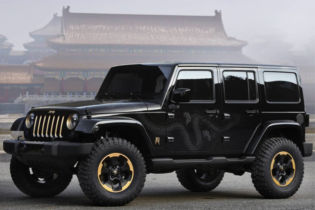 photo jeep wrangler dragon concept 2012. Black Bedroom Furniture Sets. Home Design Ideas