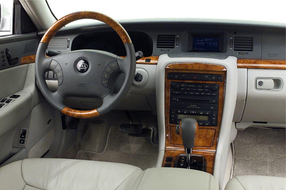 Kia  OPIRUS    http://www.voiturepourlui.com/images/Kia//Interieur/Kia_Opirus_008.jpg