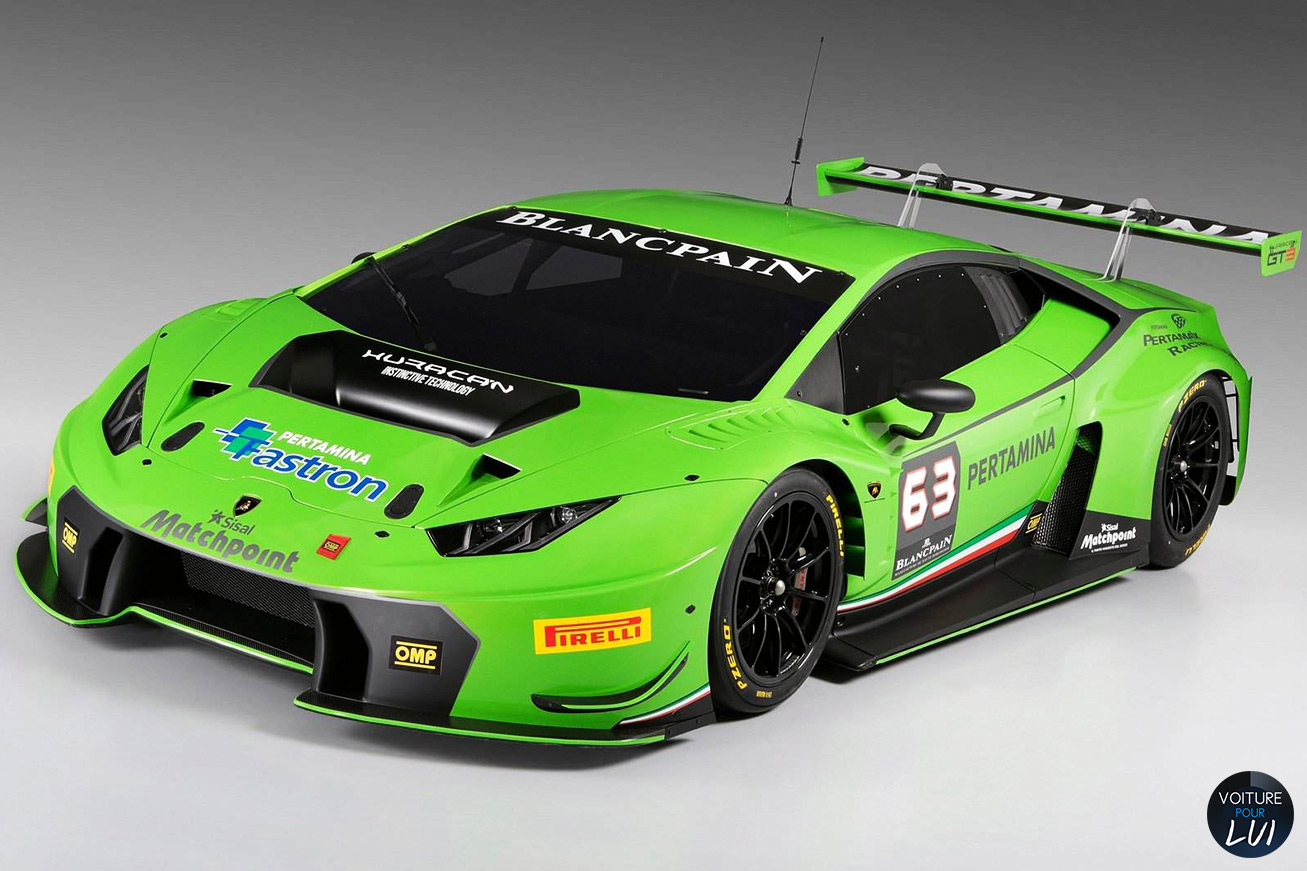 Nouvelle photo : LamborghiniHuracan-GT3-Racecar