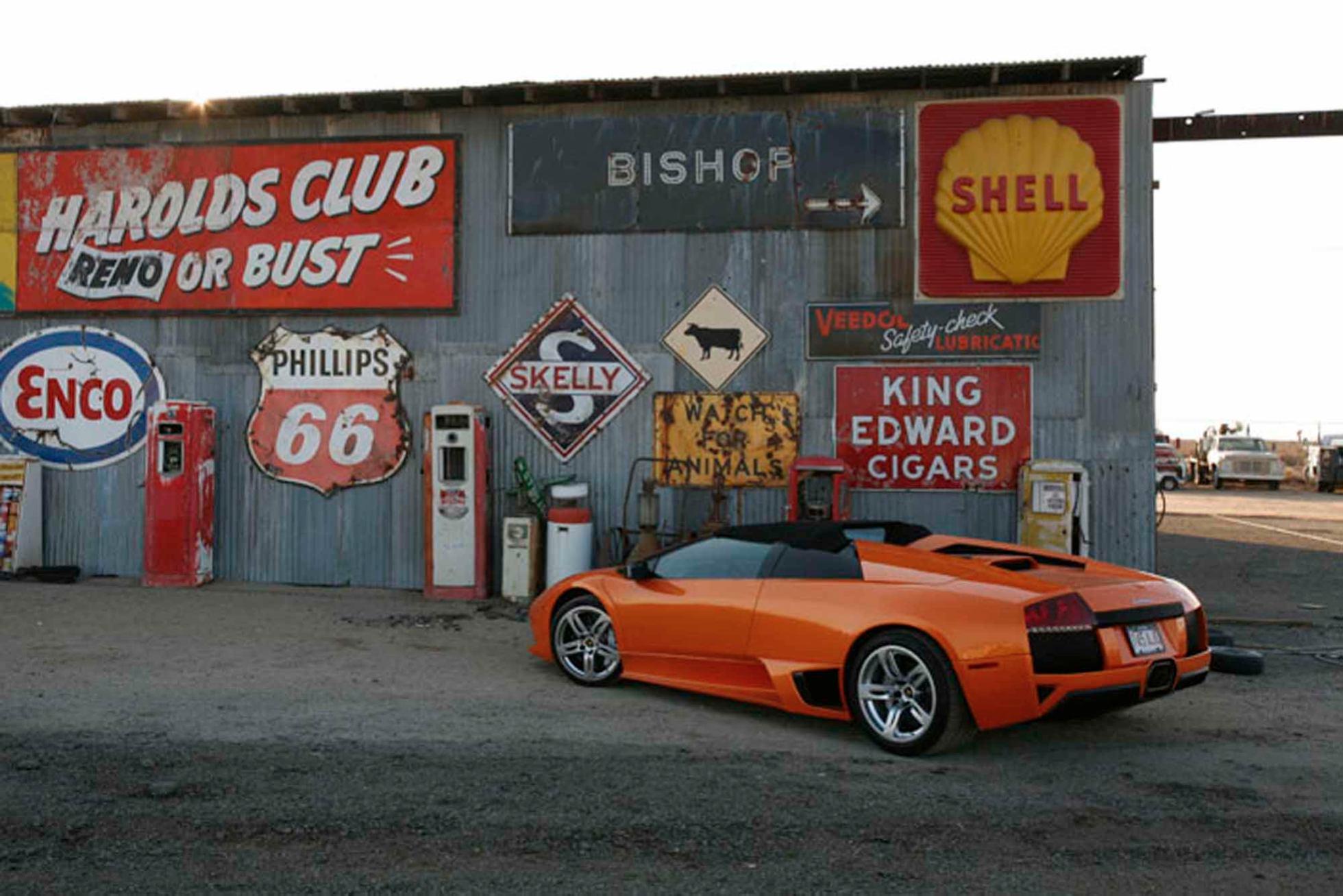 Les nouvelles photos de : Murcielago-Roadster