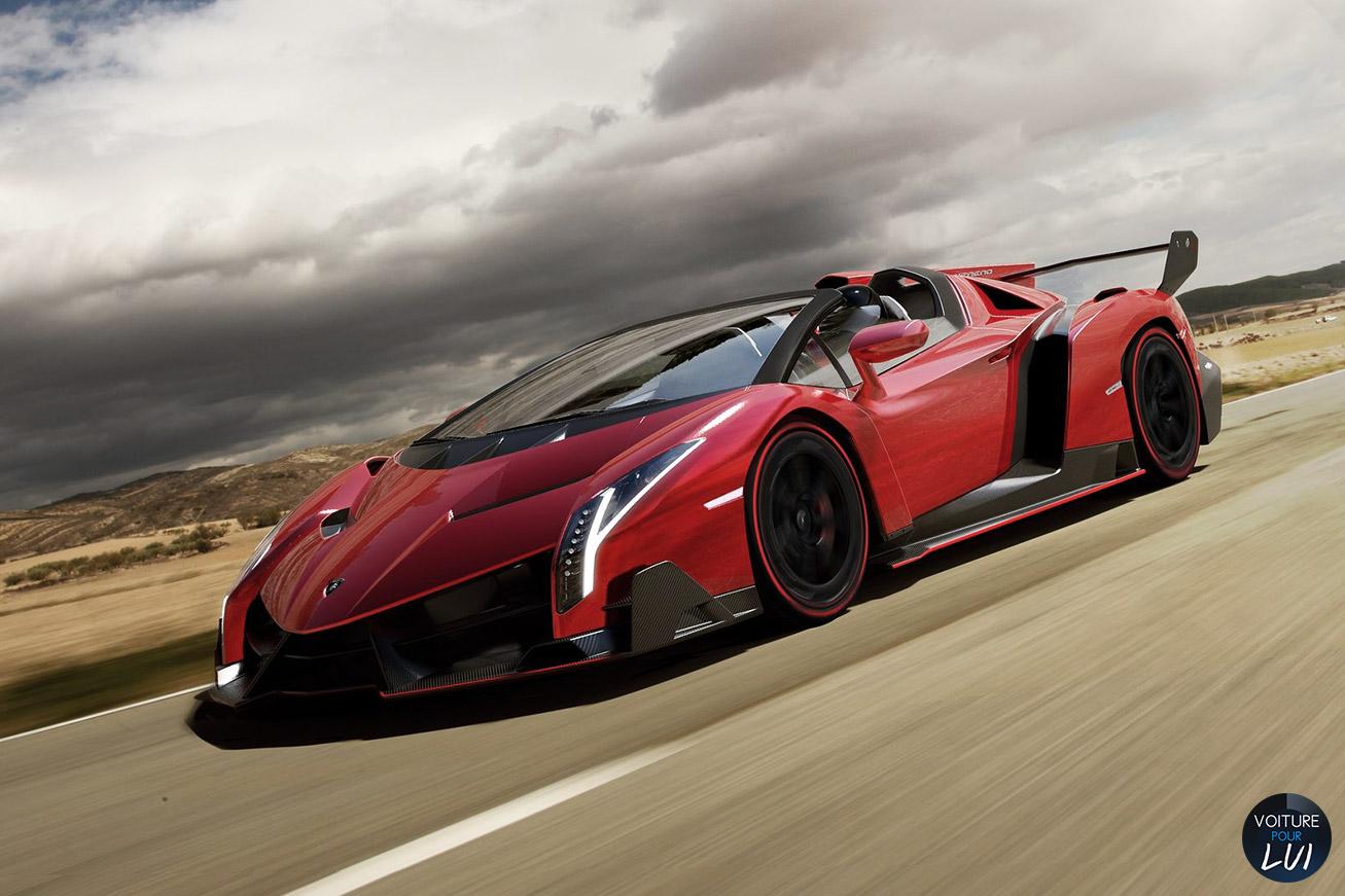 Les nouvelles photos de : Veneno-Roadster-2014