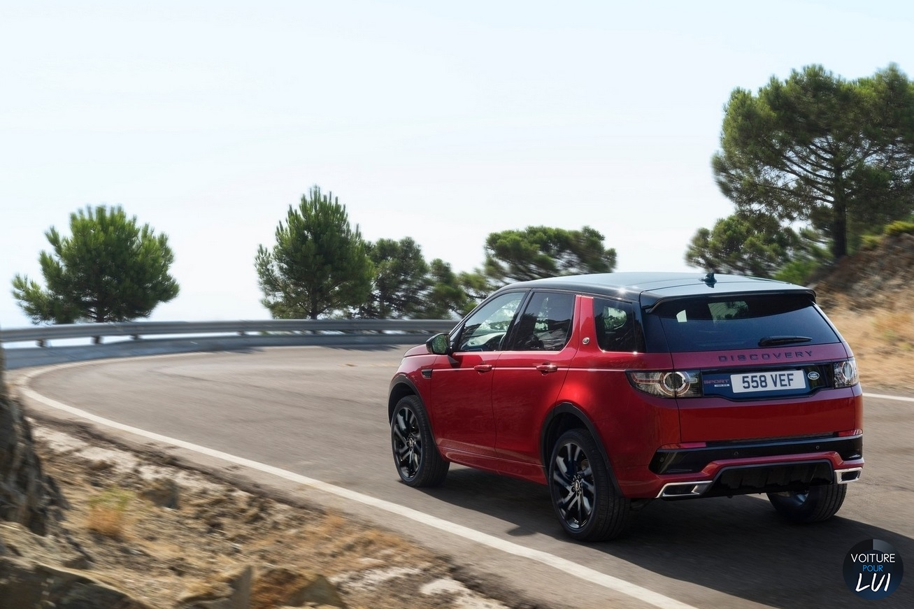 Land Rover Discovery Sport Dynamic 2016