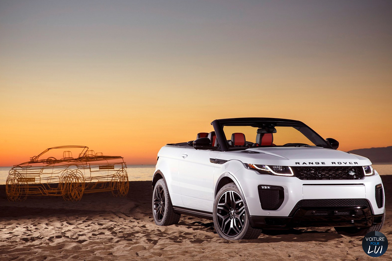 land rover evoque cabriolet decapotable. Black Bedroom Furniture Sets. Home Design Ideas