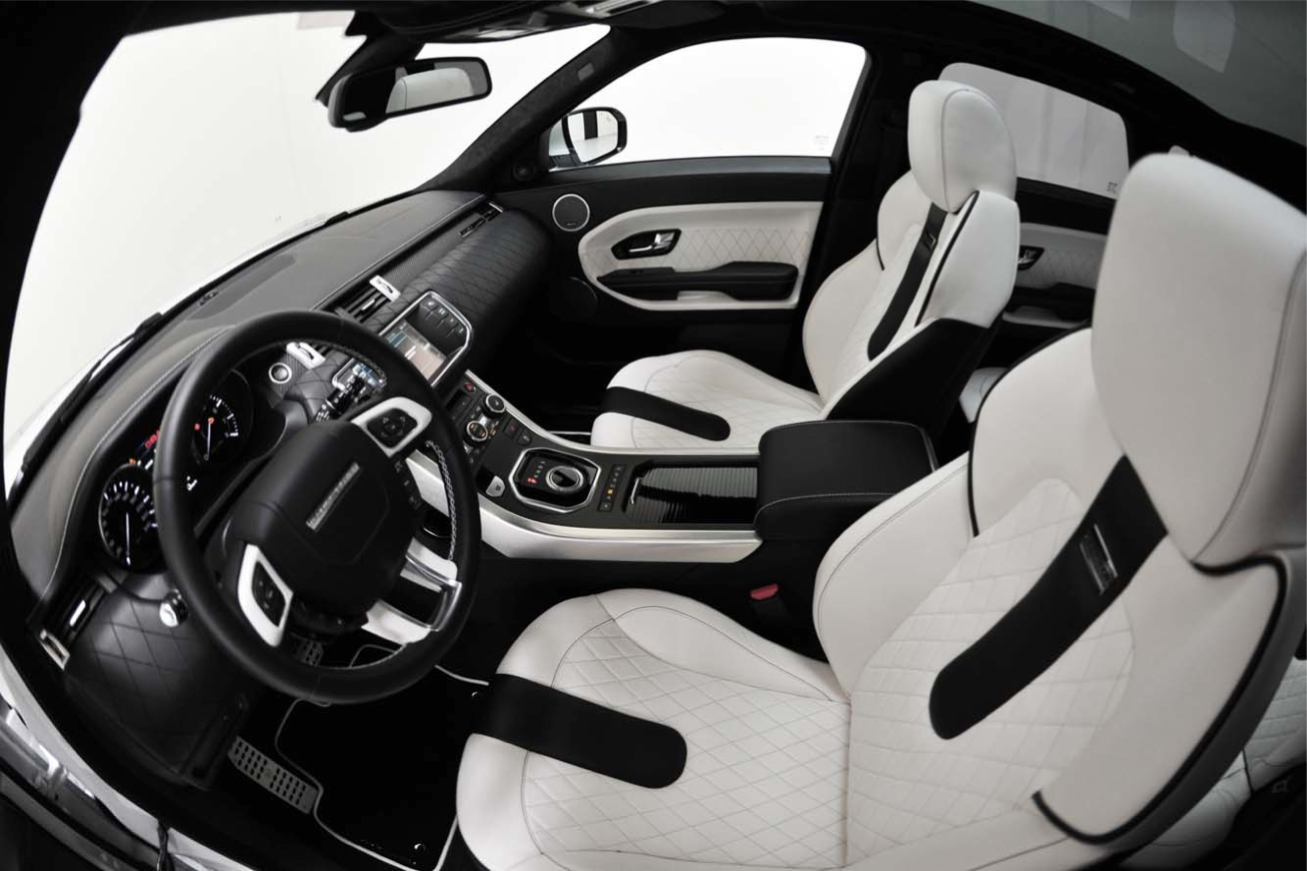 Photos land rover evoque startech 2011 numero 12 for Interieur evoque