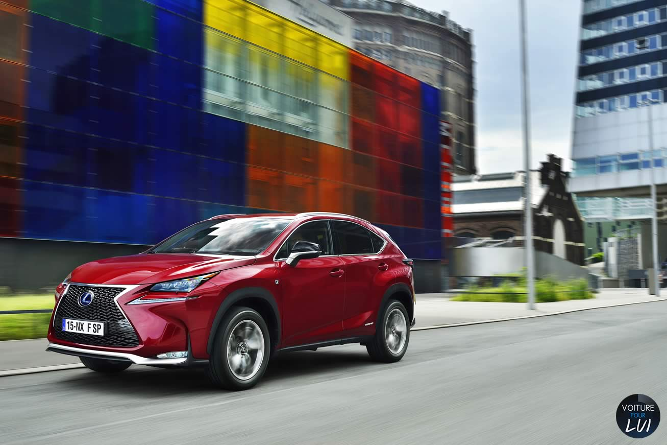 photo lexus nx 300h f sport essai routier. Black Bedroom Furniture Sets. Home Design Ideas