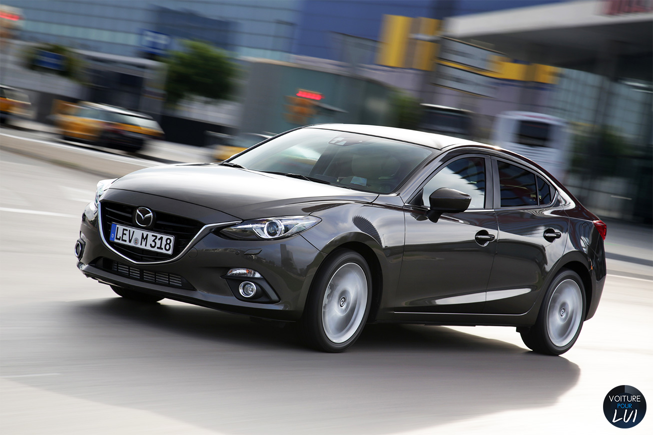 Nouvelle photo : Mazda3-Berline