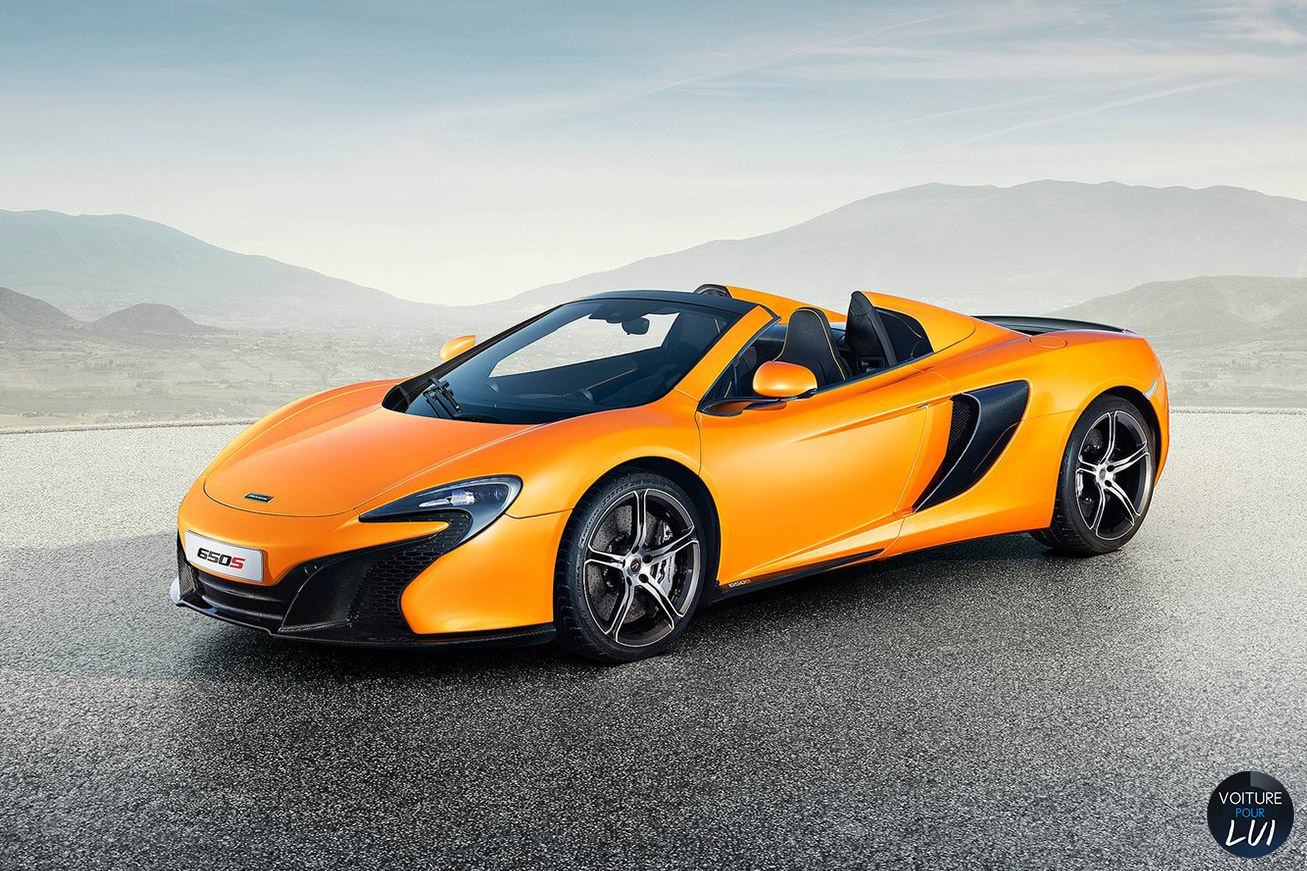 Nouvelle photo : McLaren650S-Spider
