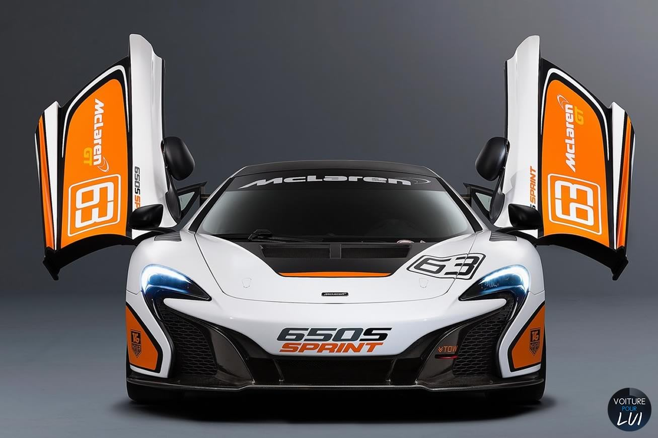 Nouvelle photo : McLaren650S-Sprint