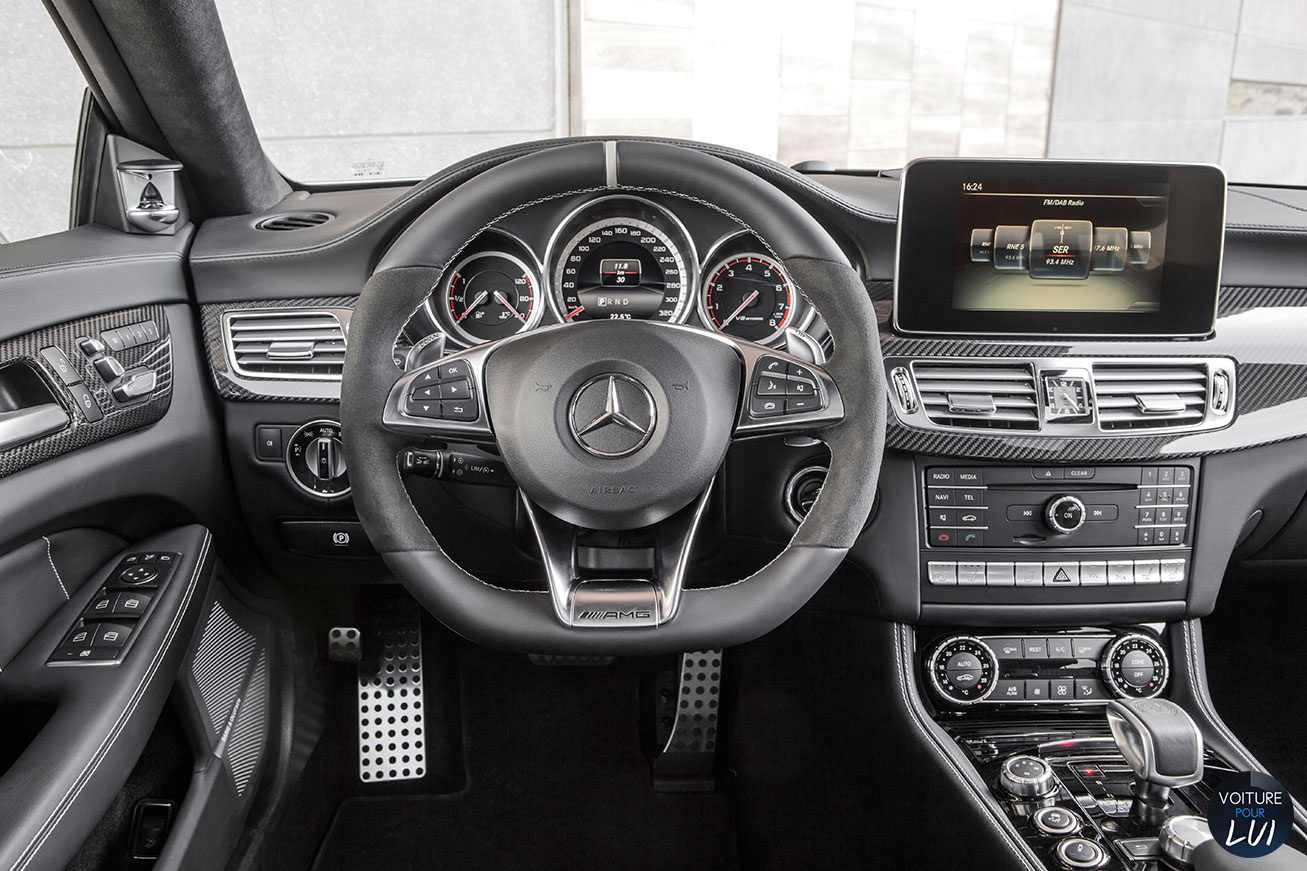 Cls shooting brake 2015 2015 photos break Interieur mercedes