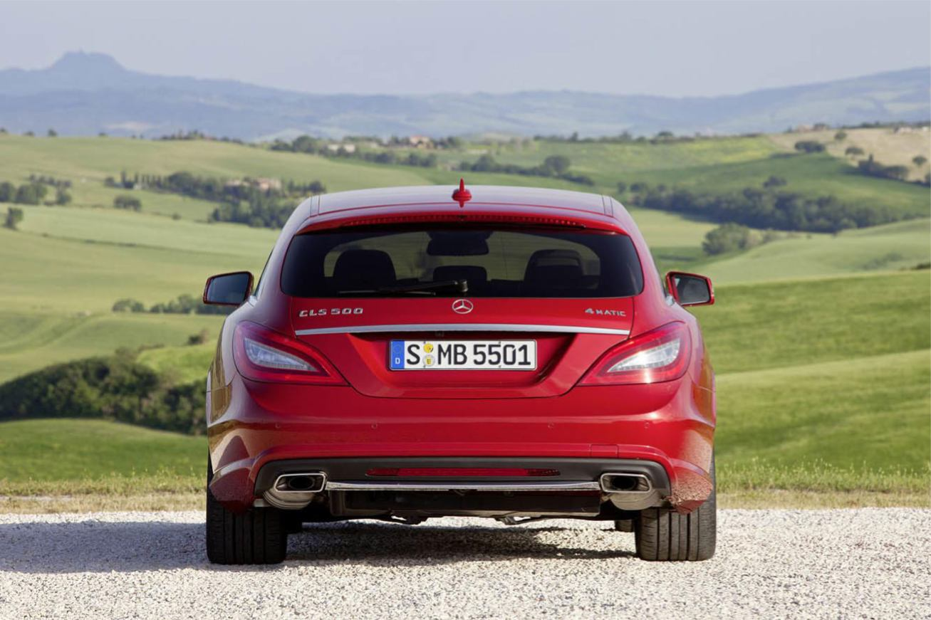 Mercedes CLS-Shooting-Brake photo