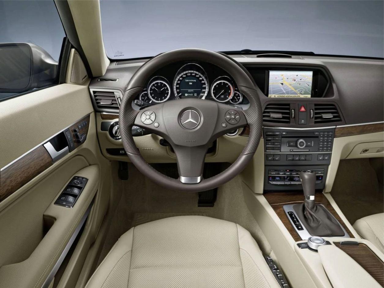 Mercedes Class E 2009 Coupe