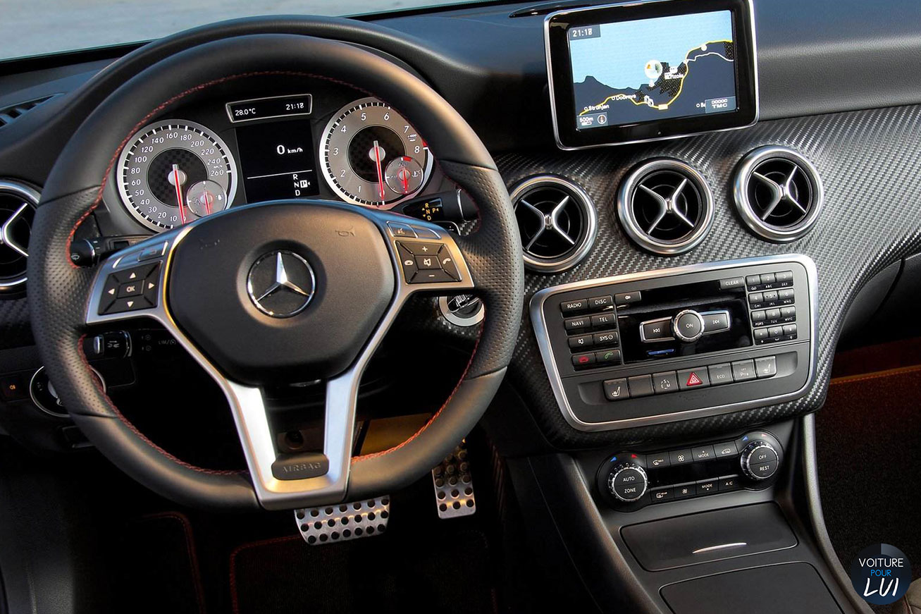 Mercedes classe a 2015 performance for Interieur mercedes classe a