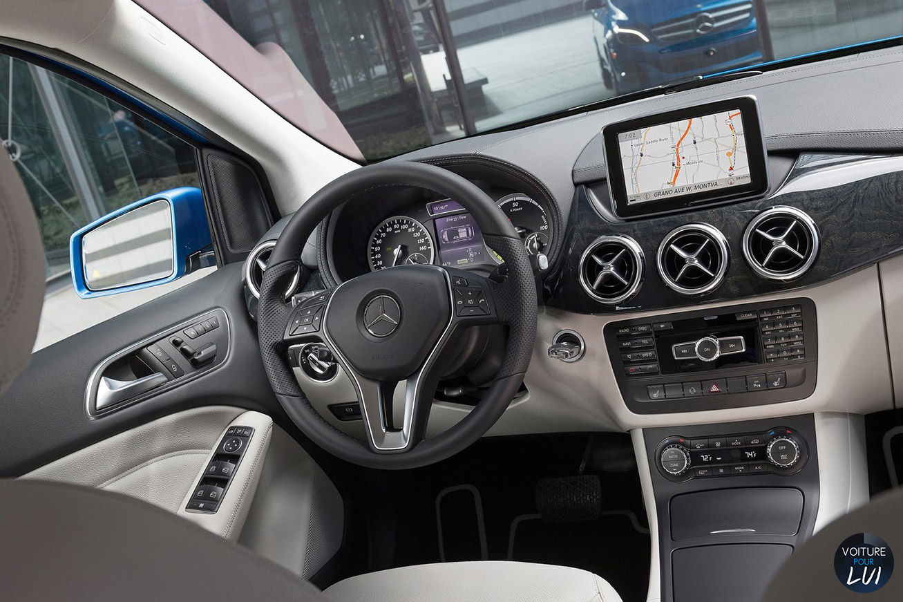 Photos mercedes classe b electric drive 2015 numero 16 for Mercedes classe m interieur