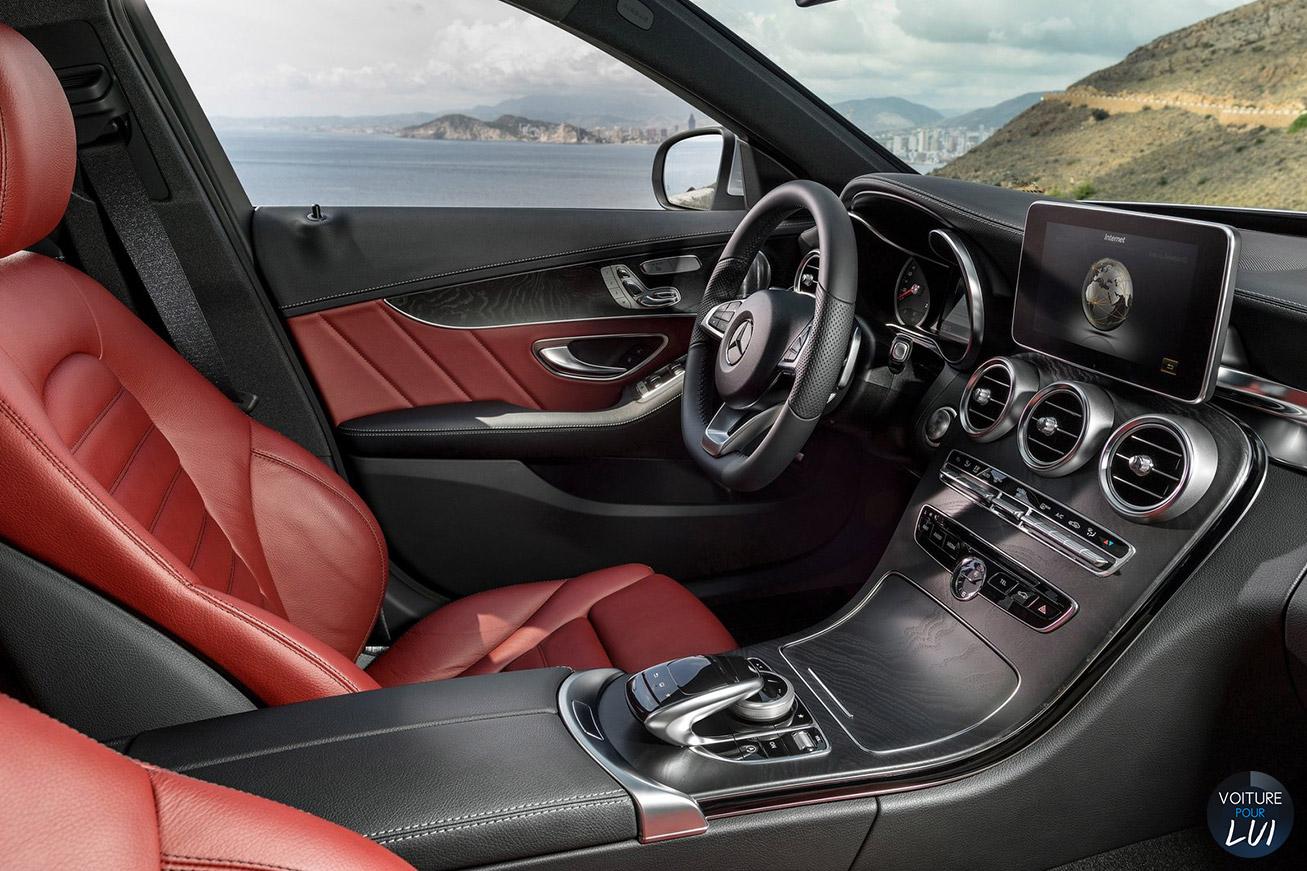 Image mercedes classe c 2015 calandre for Mercedes classe c interieur