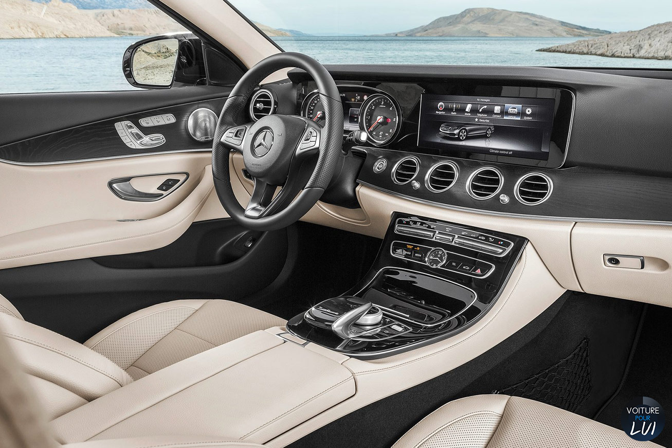 Photos mercedes classe e 2017 2017 numero 20 for Interieur mercedes classe a
