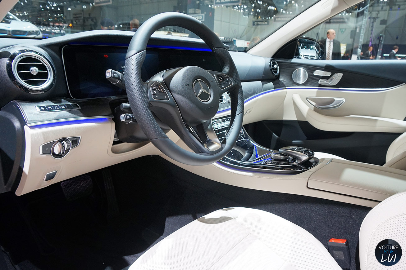 Photos mercedes classe e salon geneve 2016 2016 numero 14 for Classe e interieur 2016