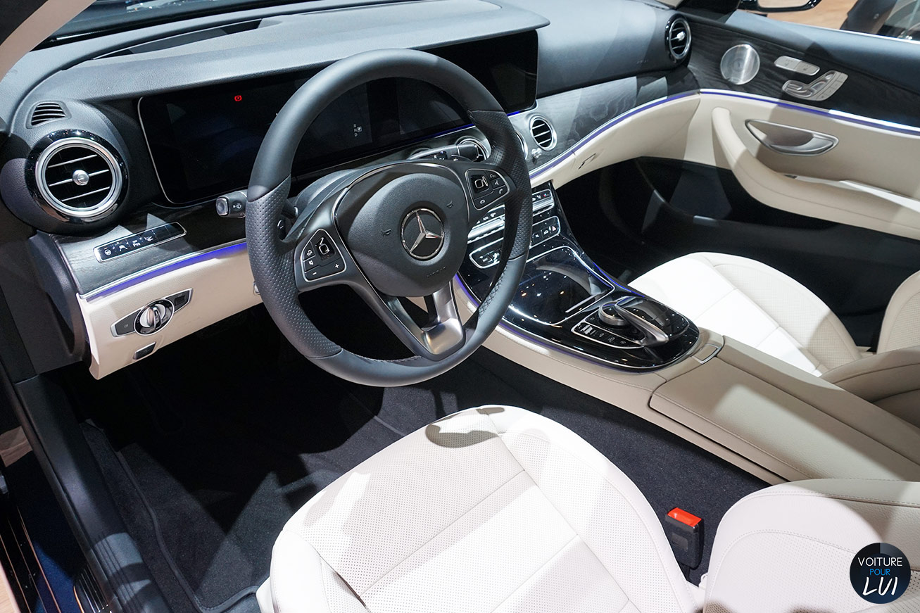 Photos mercedes classe e salon geneve 2016 2016 numero 15 for Classe e interieur 2016