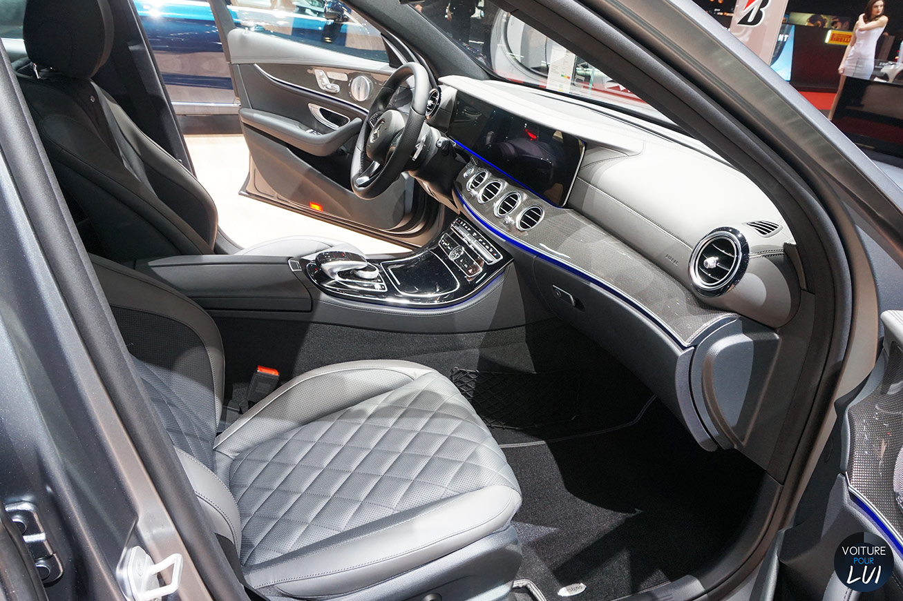 Photos mercedes classe e salon geneve 2016 2016 numero 18 for Classe e interieur 2016