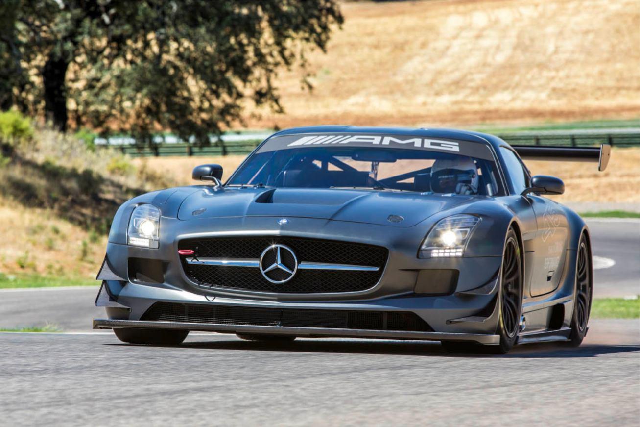 Mercedes SLS AMG GT3 45th ANNIVERSARY