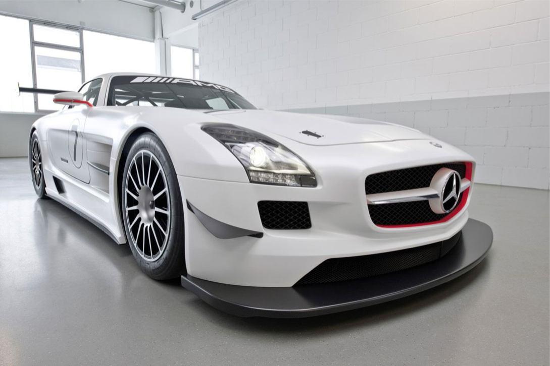 Les nouvelles photos de : SLS-AMG-GT3
