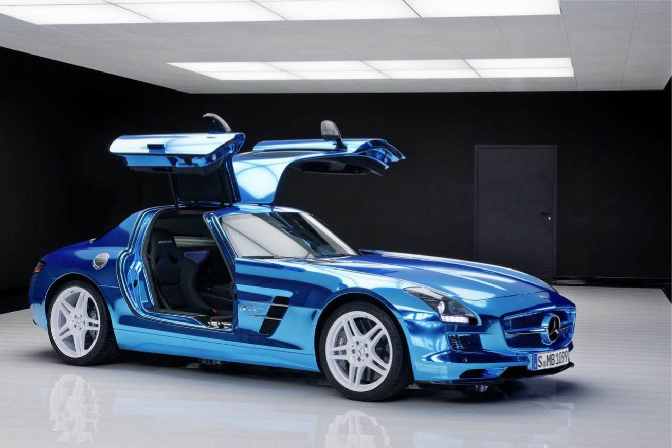 Les nouvelles photos de : SLS-Electric-Drive