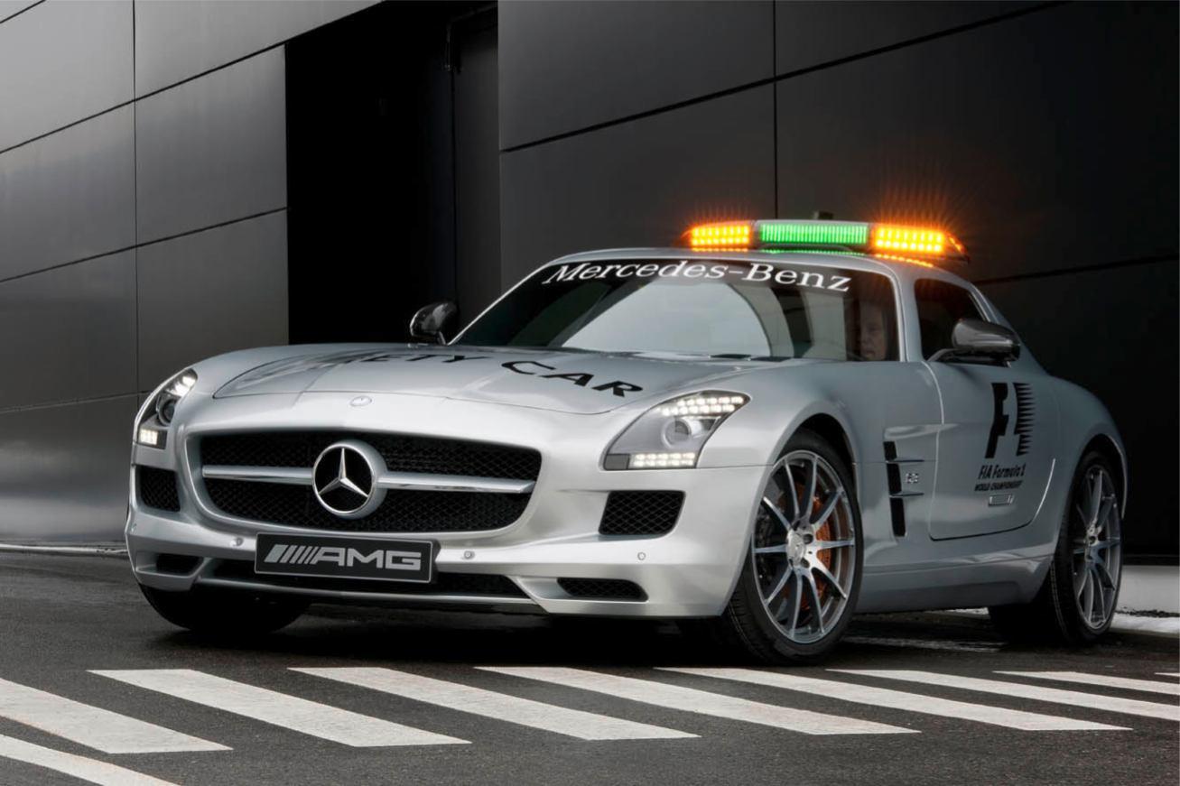 Les nouvelles photos de : SLS-Safety-Car