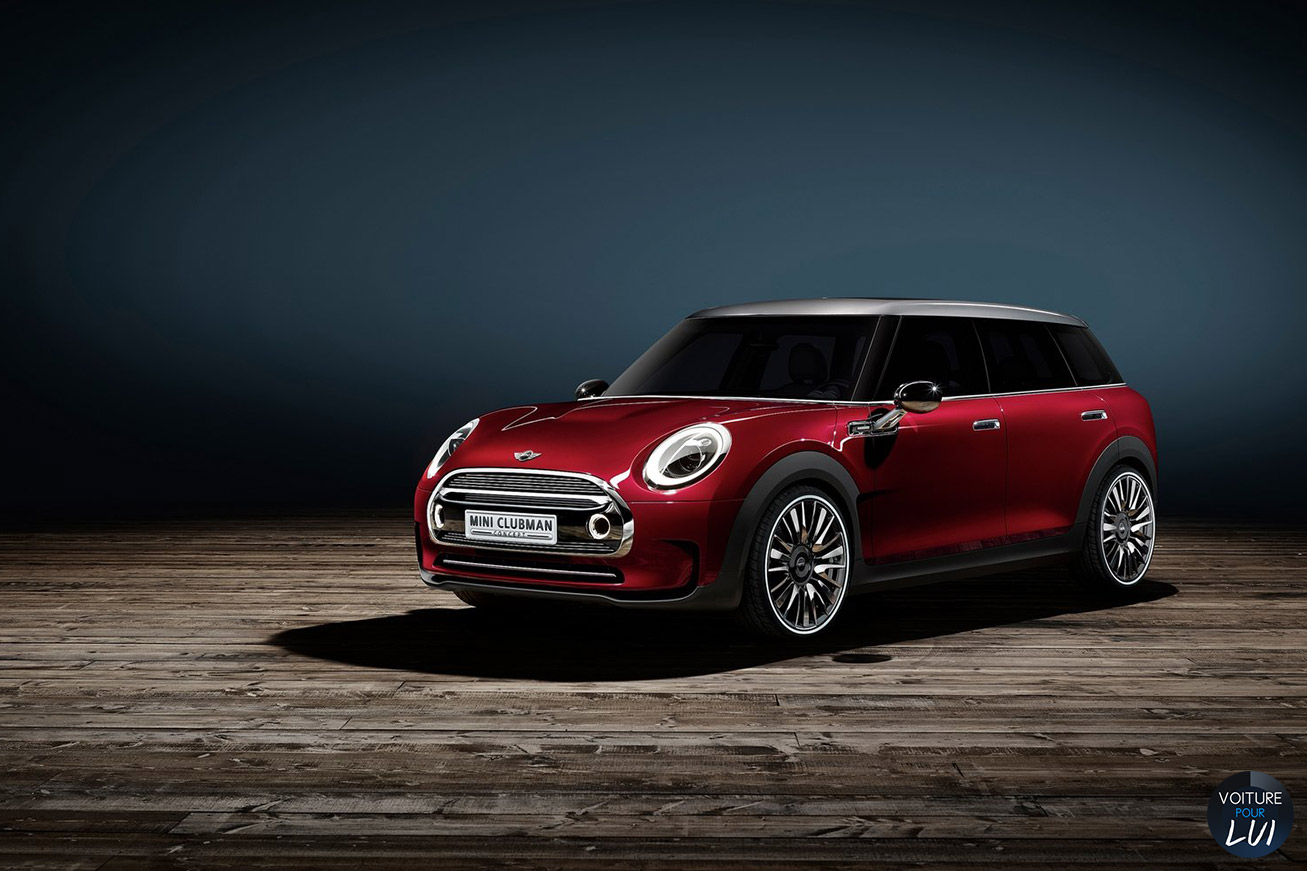 Nouvelle photo : MiniClubman-Concept