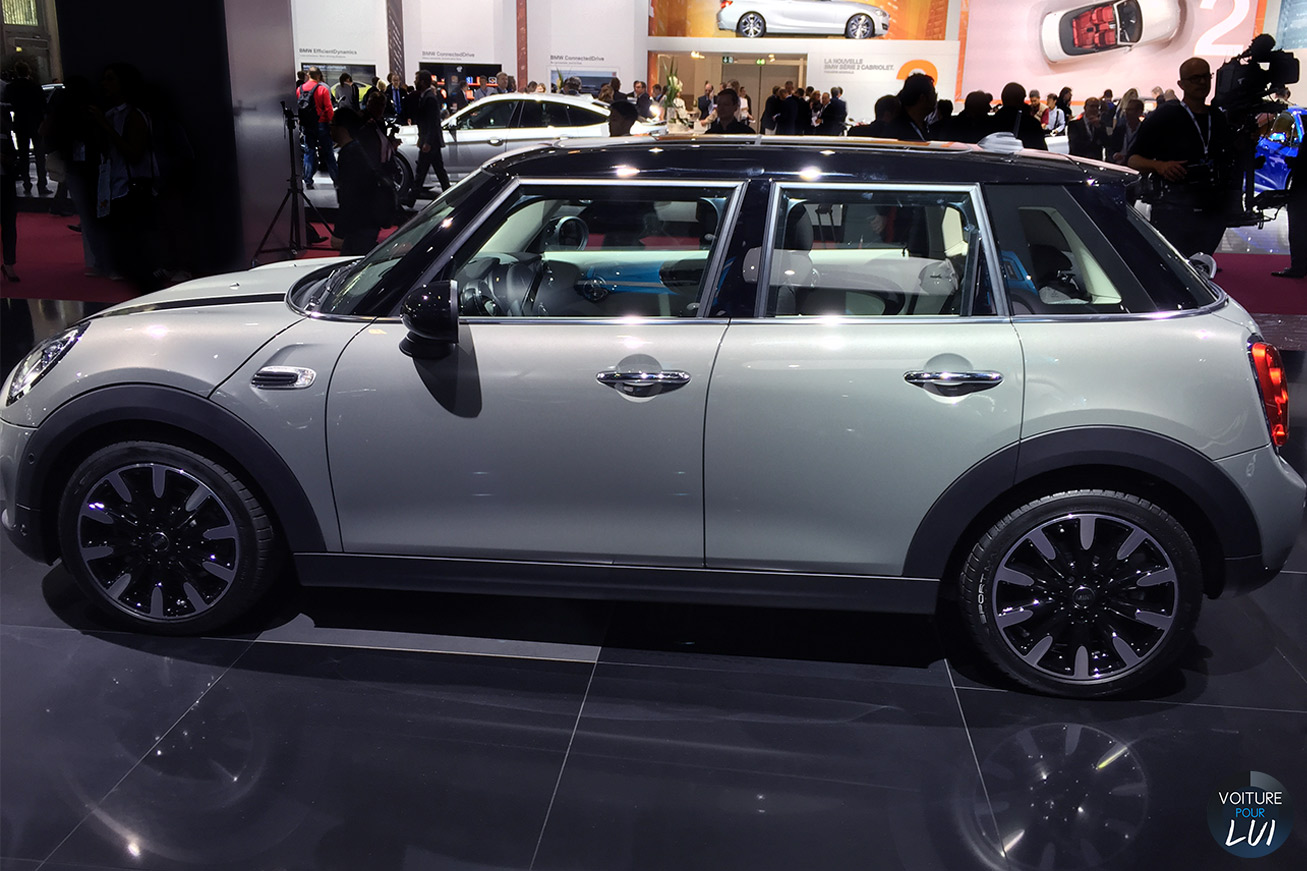 mini cooper s 5portes mondial auto 2014 photo. Black Bedroom Furniture Sets. Home Design Ideas
