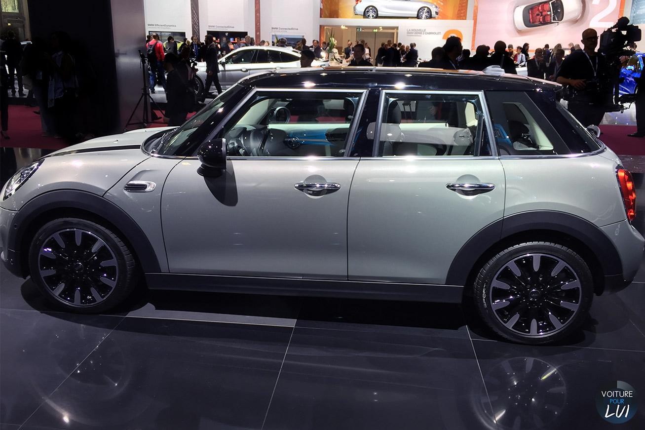 Mini cooper s 5portes mondial auto 2014 photo for Mini cooper 5 portes
