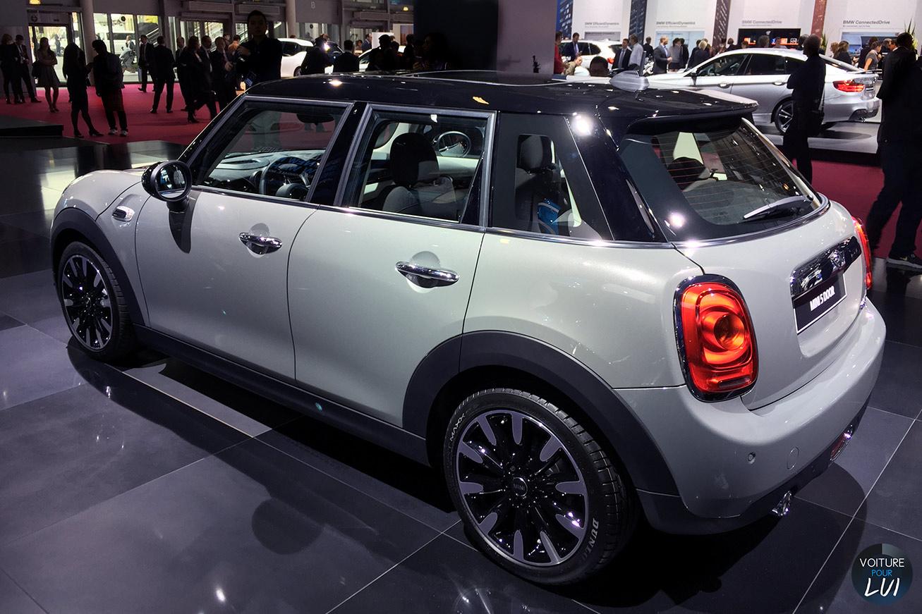 Cooper s 5portes mondial auto 2014 berline for Mini cooper 5 portes