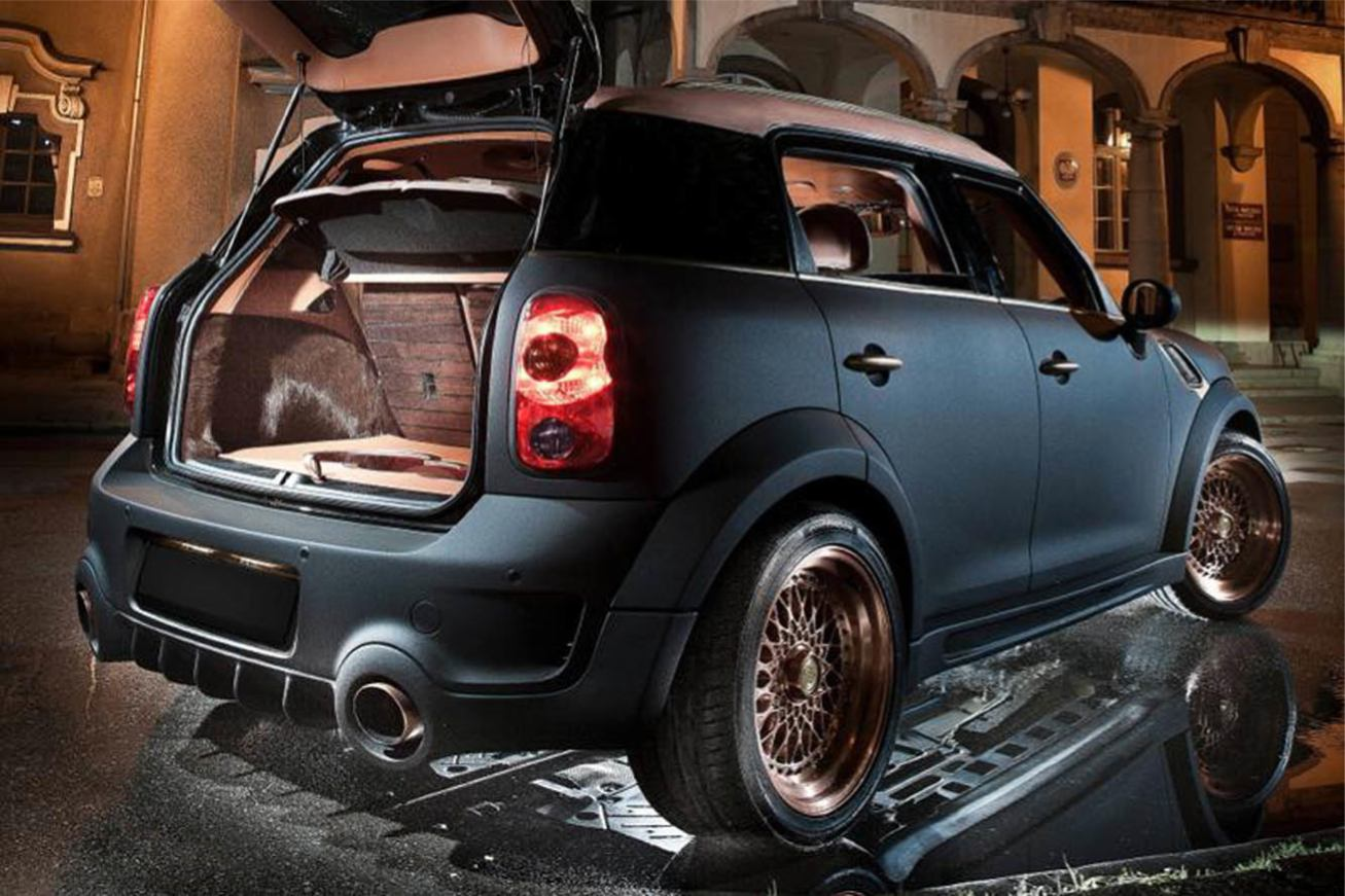 toutes les photos mini countryman steampunk sur voiture pour lui. Black Bedroom Furniture Sets. Home Design Ideas