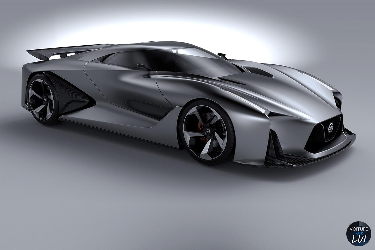 Nissan 2020 Vision Gran Tourismo Concept Photo