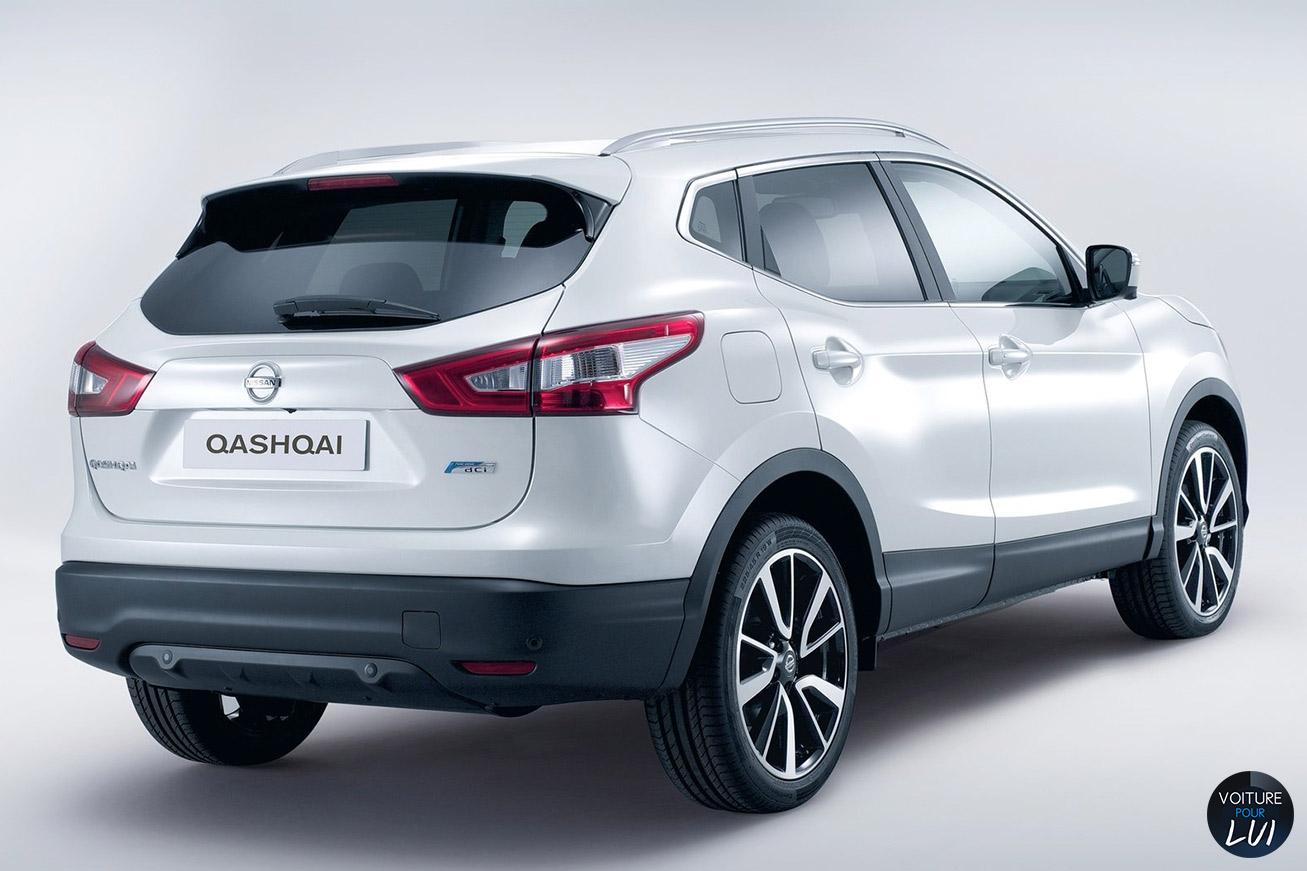 Nissan qashqai 2014 arriere Interieur qashqai 2014