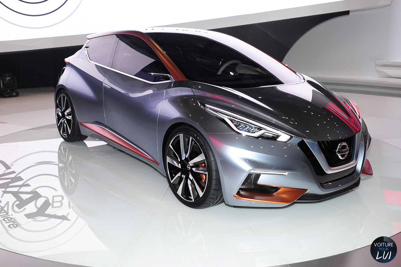 Photo nissan sway concept salon geneve 2015 2015 - Geneve 2015 salon ...