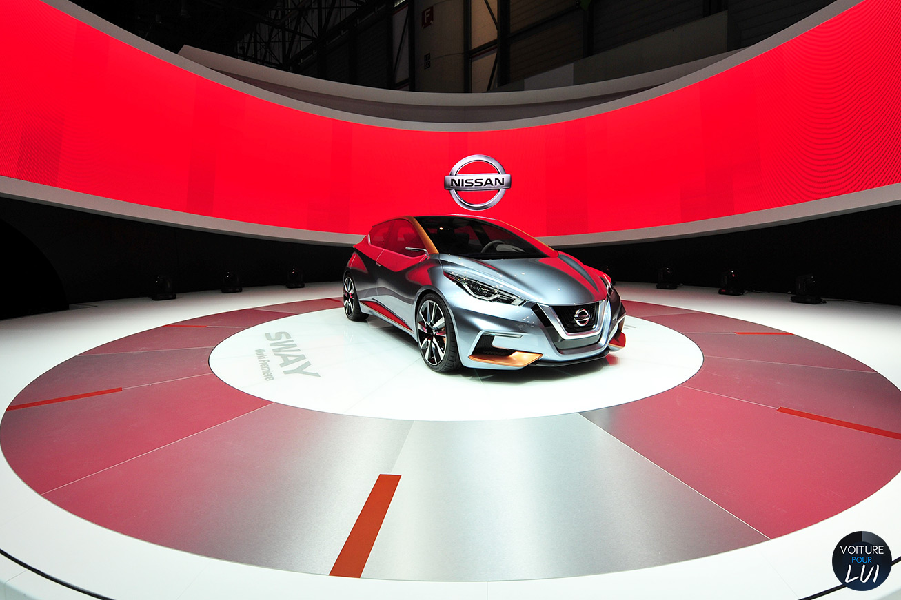 Nissan sway concept salon geneve 2015 photo for Geneve 2015 salon