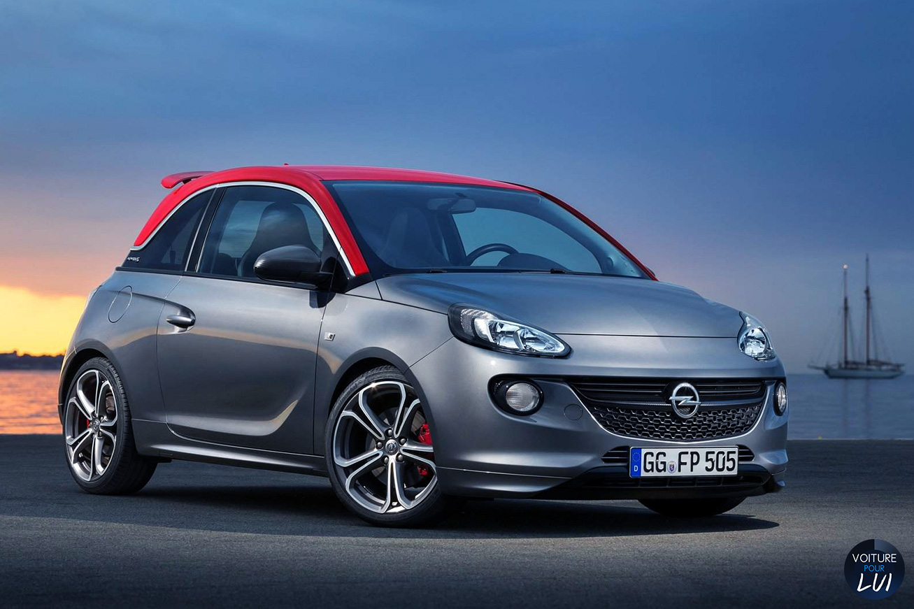 photo opel adam s 2015. Black Bedroom Furniture Sets. Home Design Ideas