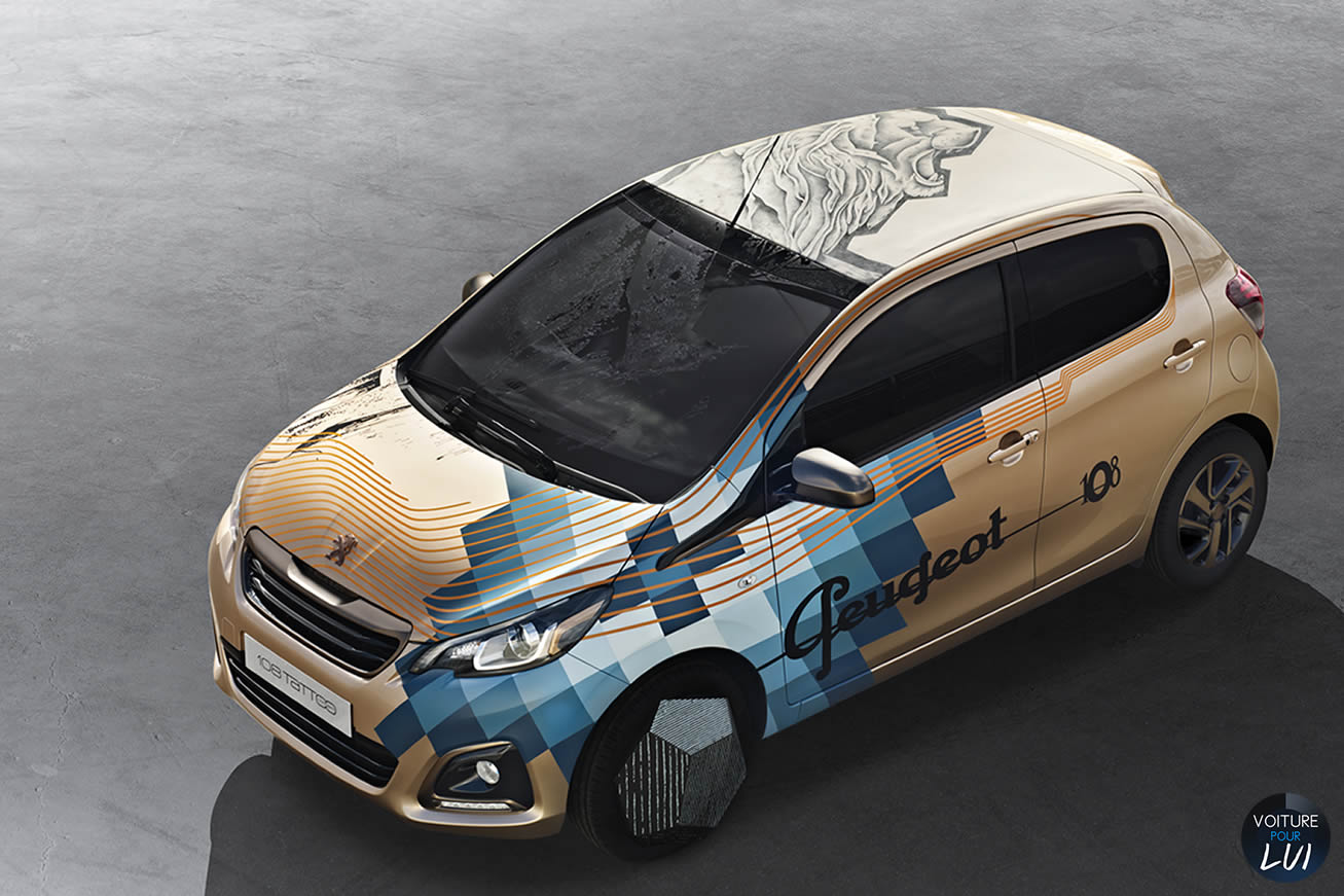 Nouvelle photo : Peugeot108-Tattoo