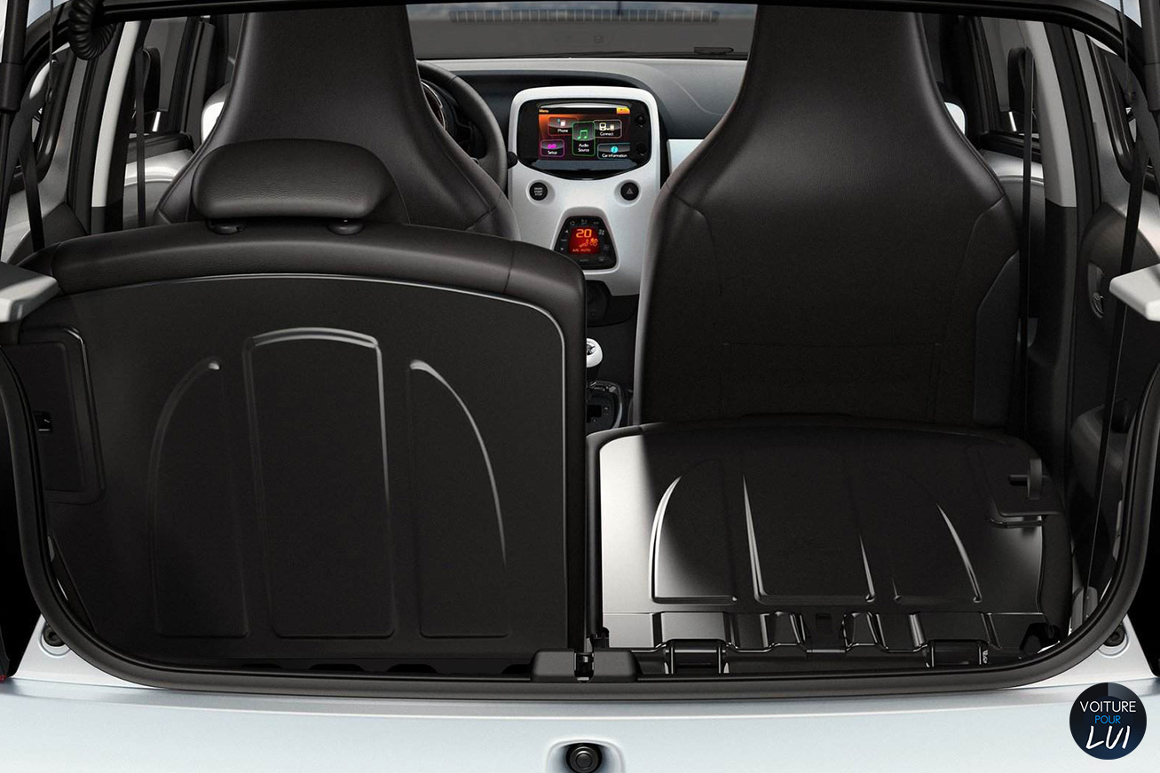 Peugeot 108 gris for Interieur peugeot 108