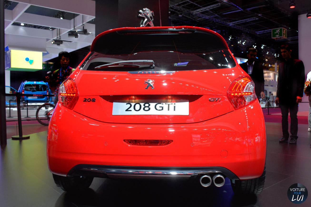 Peugeot 208 GTi 30th Mondial 2014