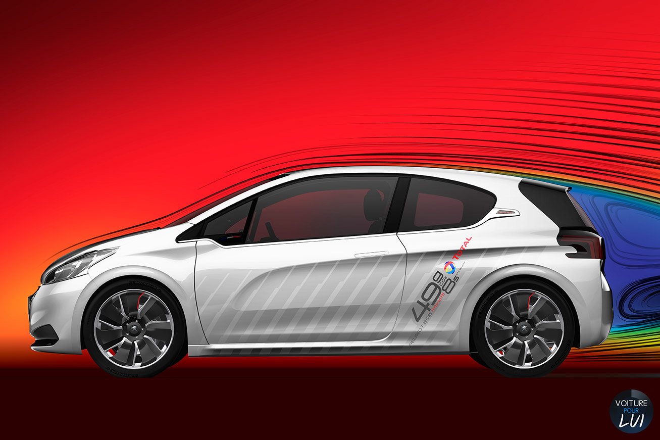 Peugeot 208 HybridFE 2014