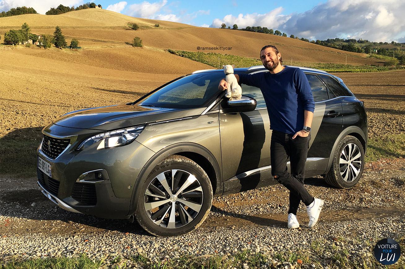 Peugeot 3008 2017 2017 voiture pour lui for 3008 exterieur