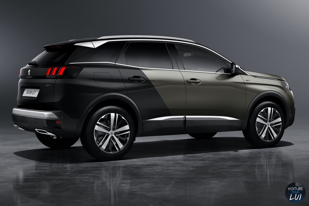 Photos peugeot 3008 gt 2016 2016 numero 12 for 3008 exterieur