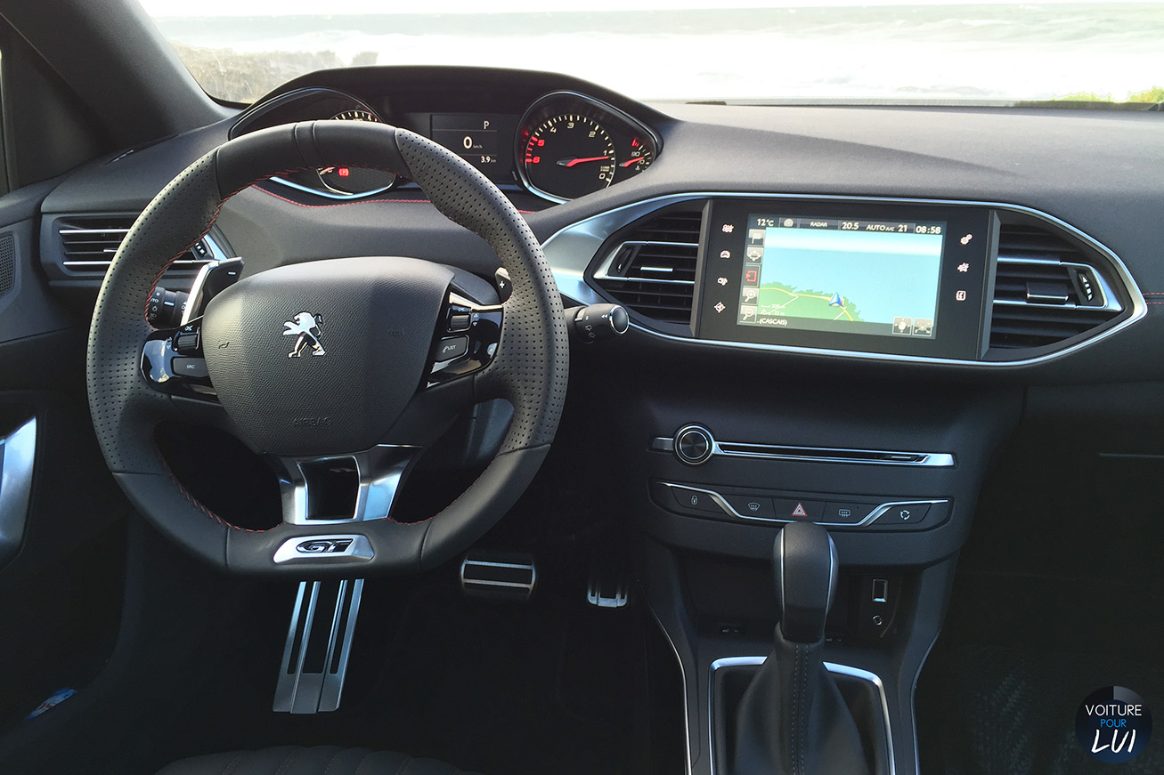 Peugeot 308 gt performance for Interieur peugeot 308