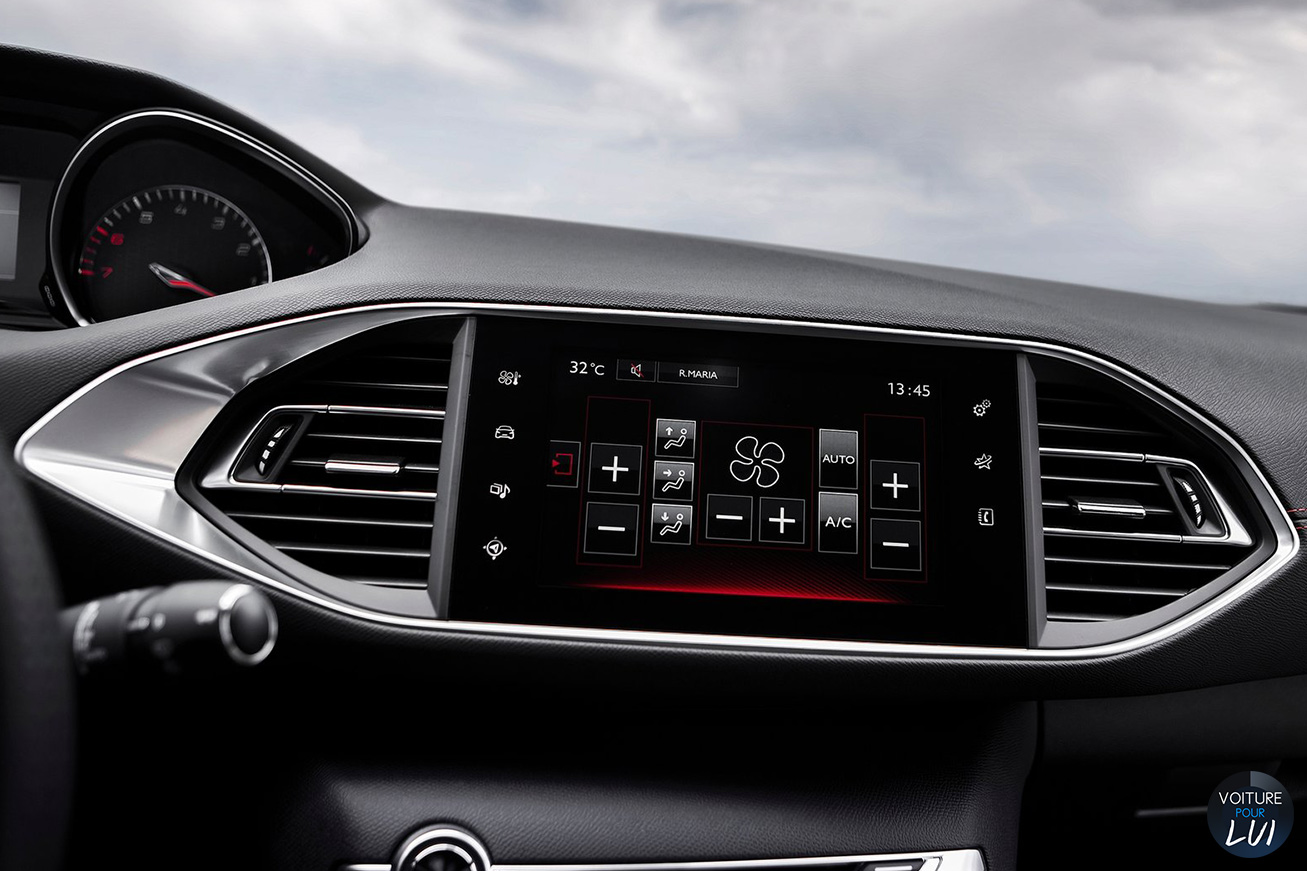 Peugeot 308 gti 2015 nouvelle for Interieur 308