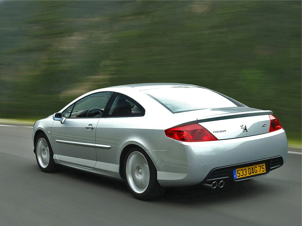 peugeot 407 coupe coupe photo. Black Bedroom Furniture Sets. Home Design Ideas