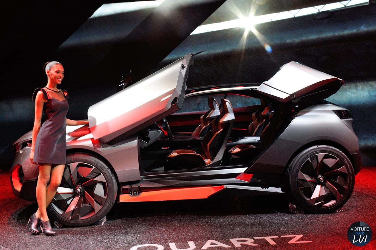 Quartz Concept Mondial Auto 2014
