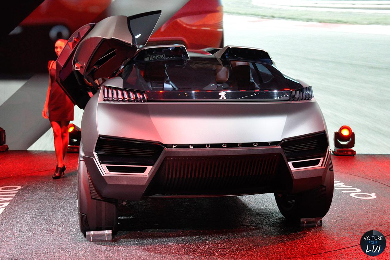 Peugeot Quartz Concept Mondial Auto 2014