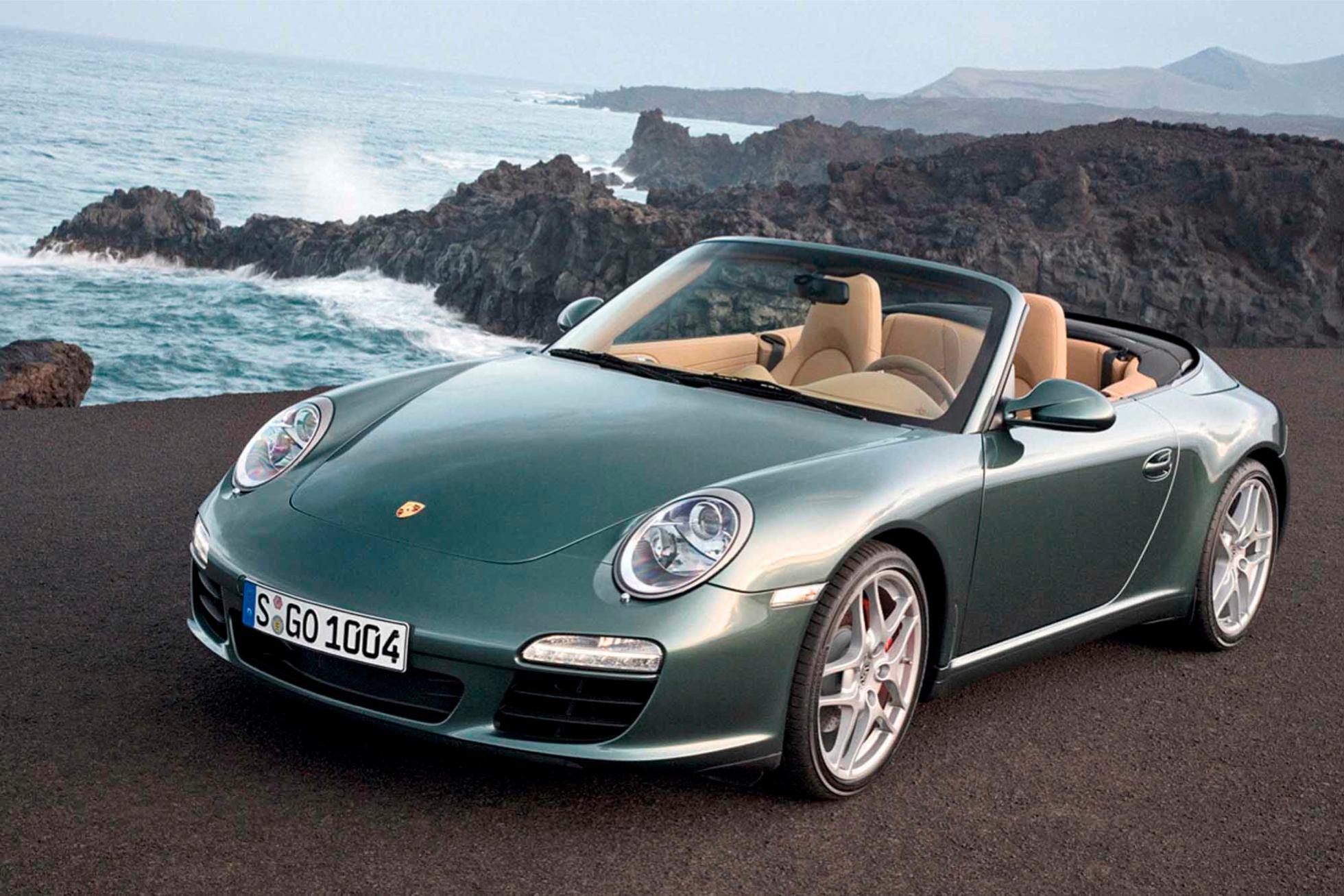 Les nouvelles photos de : 911-Cabriolet-2009