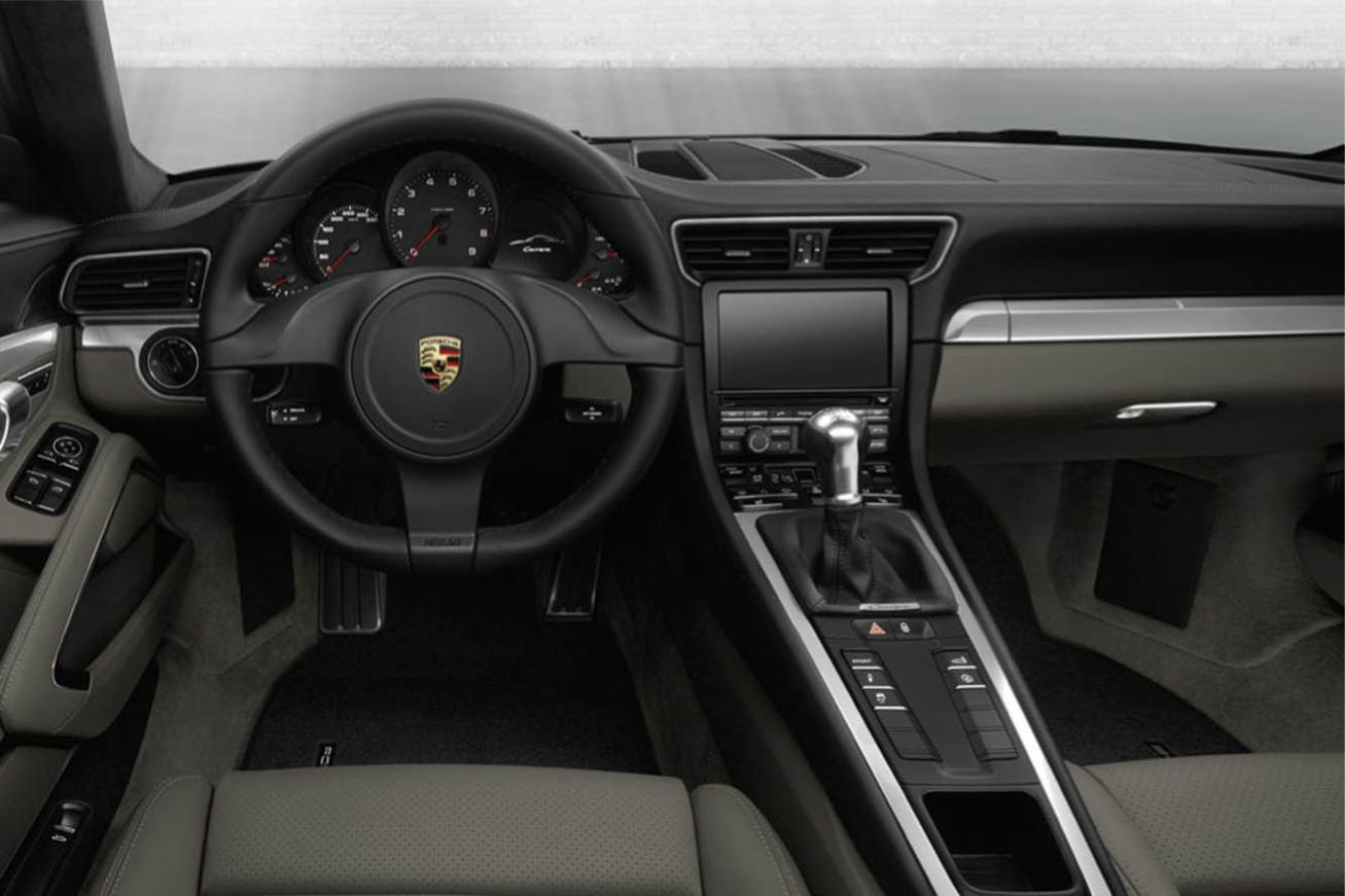 Photos porsche 911 carrera cabriolet 2012 numero 12 for Interieur 911