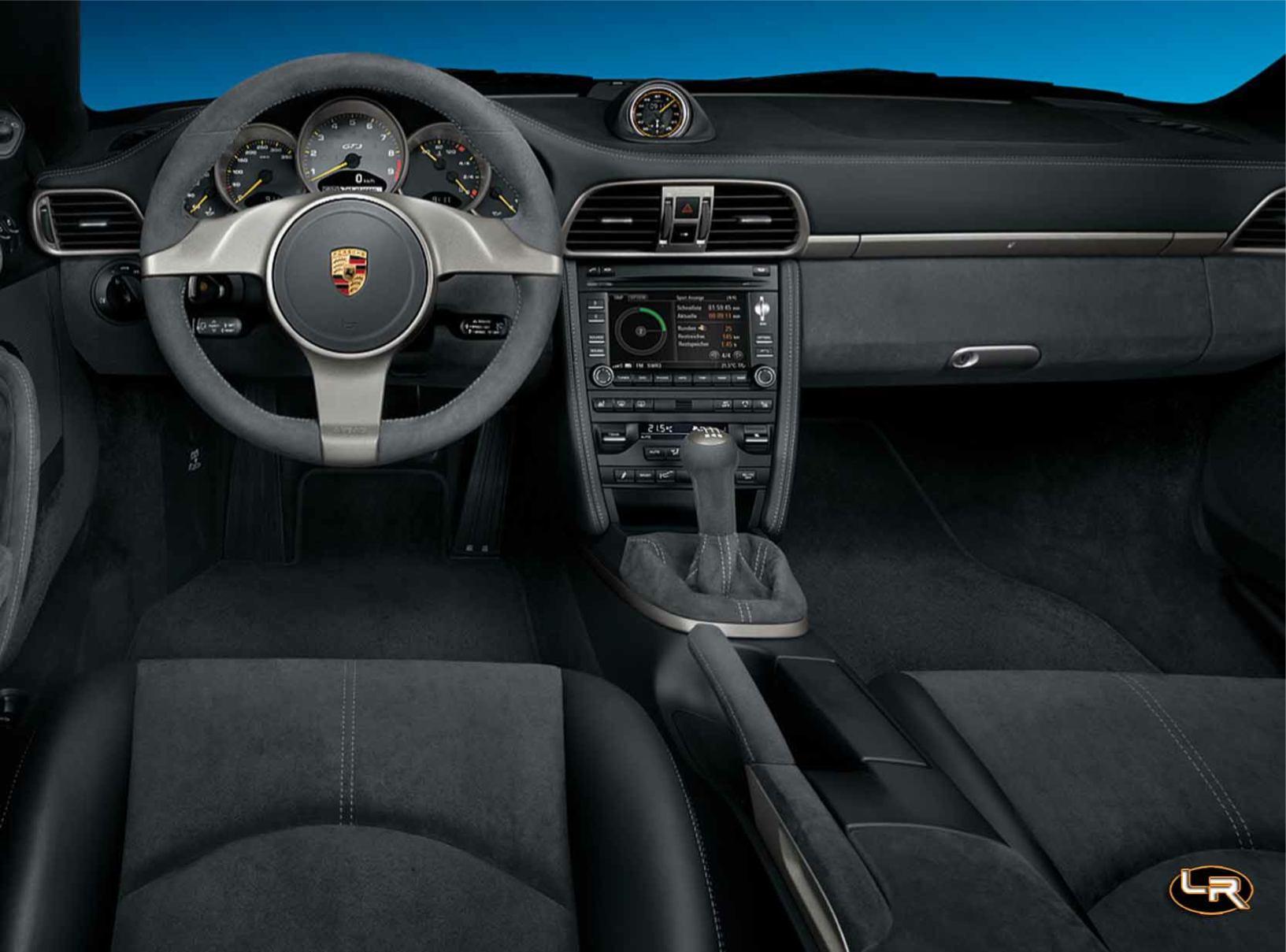 Photos porsche 911 gt3 2009 2009 numero 14 for Interieur 911 sc